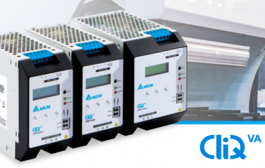 Delta introduces CliQ VA series with integrated LCD display